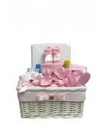Snugly Bugly Baby Hamper - Pink