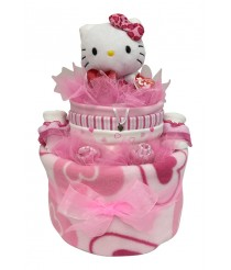 Two Tiers With Hello Kitty