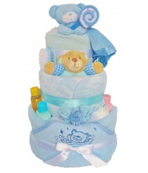 Big Bubbles Nappy Cake - Pink, or Blue