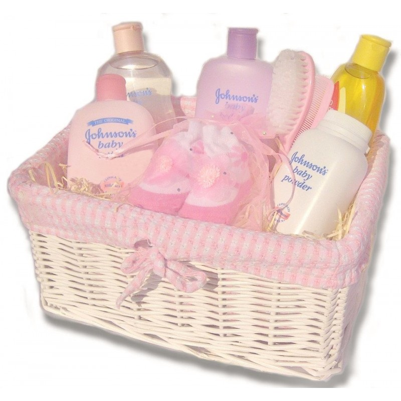 Empty Baby Gift Boxes Uk : Baby bathtime hamper with johnson s nappy cakes and