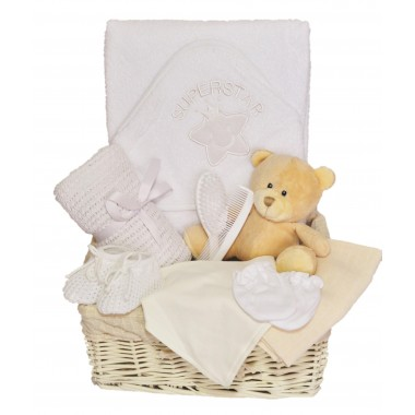 Snugly Bugly Baby Hamper - Neutral