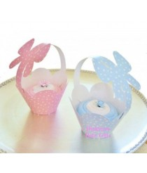 Baby Sock Cupcake & Carrier