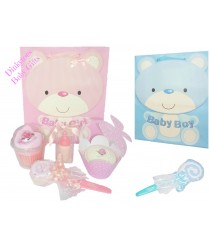 Medium Pre-filled New Baby Gift Bag