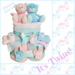 Nappy Cake Bundle for Twins