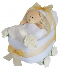 A stroll down memory lane  -  Pram Nappy Cake - Many Colours