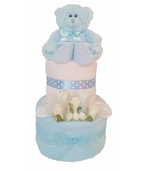 Cloudbabies Nappy Cake - Pink, Blue or Cream