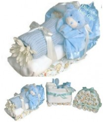 Dinkytoes Express - Nappy Cake Train