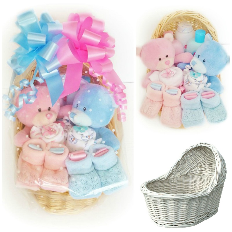Baby Gift Basket For Twins : Twins gift basket ftempo