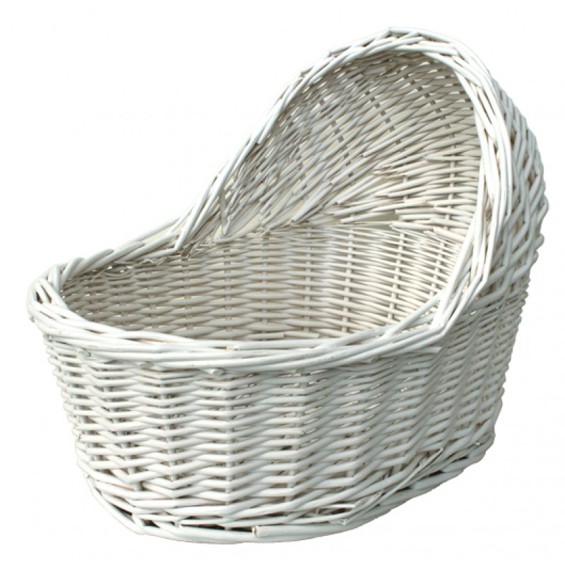 Empty Baby Gift Boxes Uk : Eco friendly wicker bassinet small or large nappy