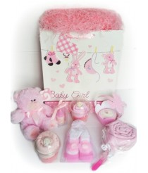 Large Pre-filled Gift Bag in Pink