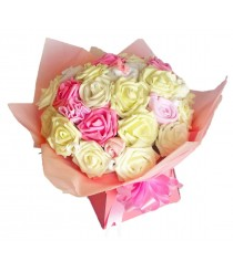 Pink & Cream Baby-licious Bouquet