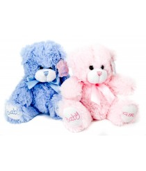 Keepsake Baby Girl & Baby Boy Teddy