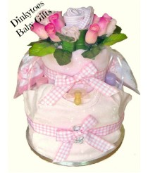 Blooming Fabulous Nappy Cake with Johnson's