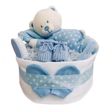 Time for a Nap - Blue Nappy Cake