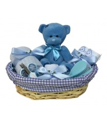 Teddy Hamper - Blue