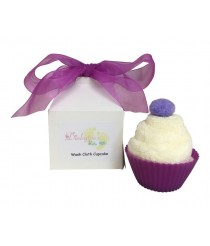 Baby Washcloth Cupcake