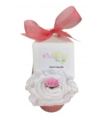 Frills all Round - Baby Socks Cupcake
