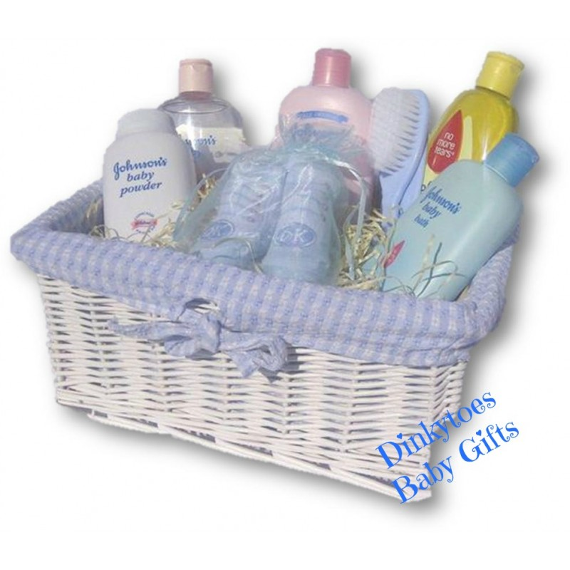 Baby Gift Hamper Uk : Baby bathtime hamper with johnson s nappy cakes and
